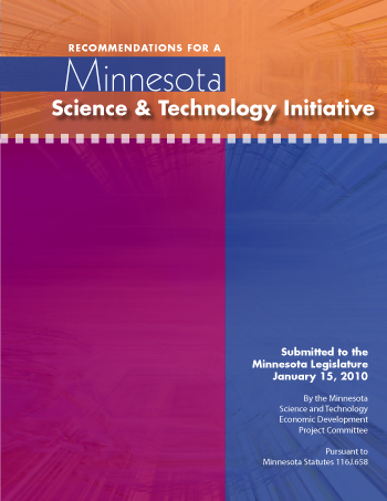 Dan Mallin Presents MN Science & Tech Committee Findings