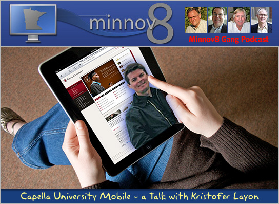 M8 Gang Podcast 139 – Capella U Mobile's Kristofer Layon