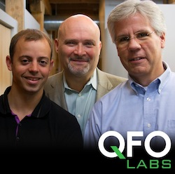 From left: John Condon, CTO; Brad Pedersen, CEO; Jim Fairman, COO.