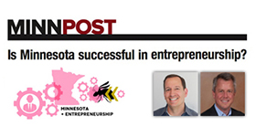 Is Minnesota successful in entrepreneurship?