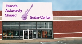 Minnov8 Gang 233 – Prince's Awkwardly Shaped Guitar Center