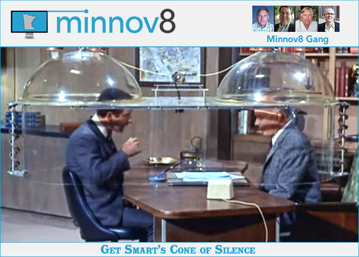 Minnov8 Gang 292 - You Need a 'Cone of Silence' - Minnov8