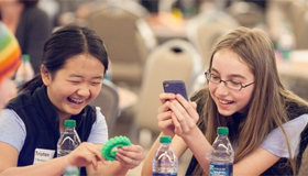 Teen Girls Making Apps for Fun, Prizes, and Solving World Problems