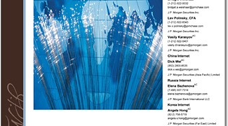 JPMorgan Internet Investment Guide